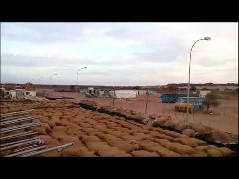 MINUSMA. UN  Mission Camp in Mali