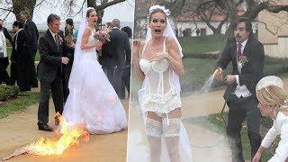 Вот это свадьбы! Свадебные приколы. Фотобомбы и просто угар. Wedding Fails