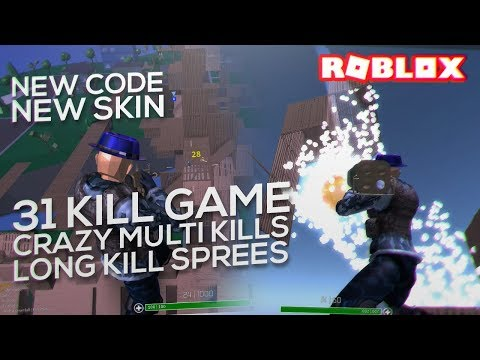 I actually got 30 KILLS with the NEW SKIN in ROBLOX STRUCID (NEW CODE)