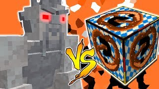SAMURAI ANTIGO VS. LUCKY BLOCK FESTA! (MINECRAFT LUCKY BLOCK CHALLENGE)