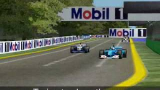 F1 Challenge: 2001 Australia Grand Prix Highlights