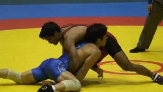 Freestyle Wrestling - Korea vs. India 74kg (103729)