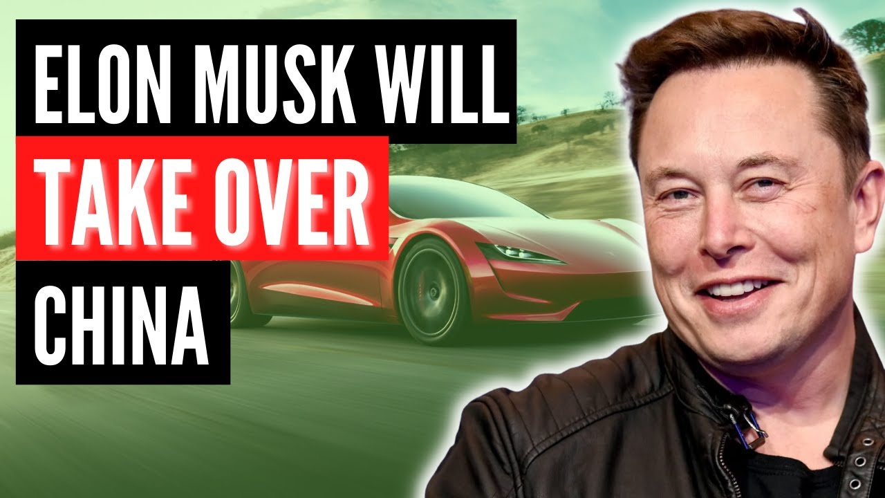 Elon Musk's NEW Plan For TESLA Will Take Over China