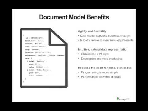 Introduction to MongoDB - Querying Documents
