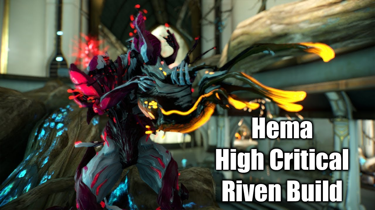 Halloween Hema Warframe Hema Riven Test Video Critical Chance Critical Damage