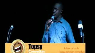 TOPSY ZAMBIAN COMEDIAN - ARMY PRIVATE FOR REAL