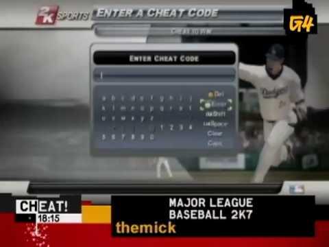 MLB 2K7 Cheat - Xbox 360