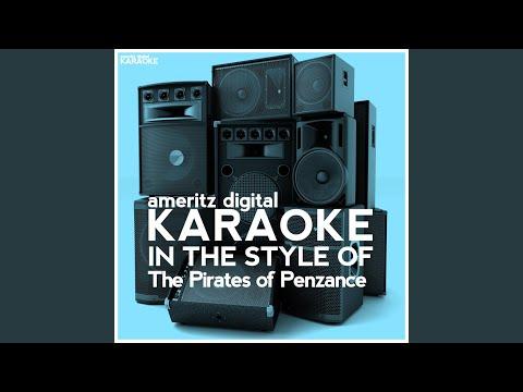 Major-General's Song (Karaoke Version)