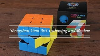 Shengshou Gem 3x3 Unboxing and Review   TheCubicle.us