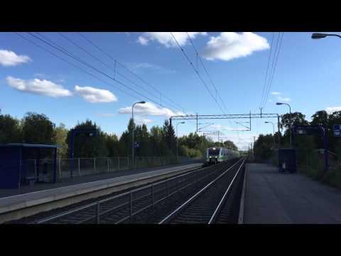 [VR] Pendolino service passing Viiala station.