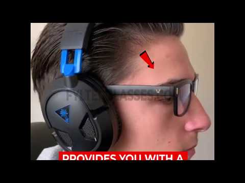 Gaming Glasses - Eye Strain Relieve