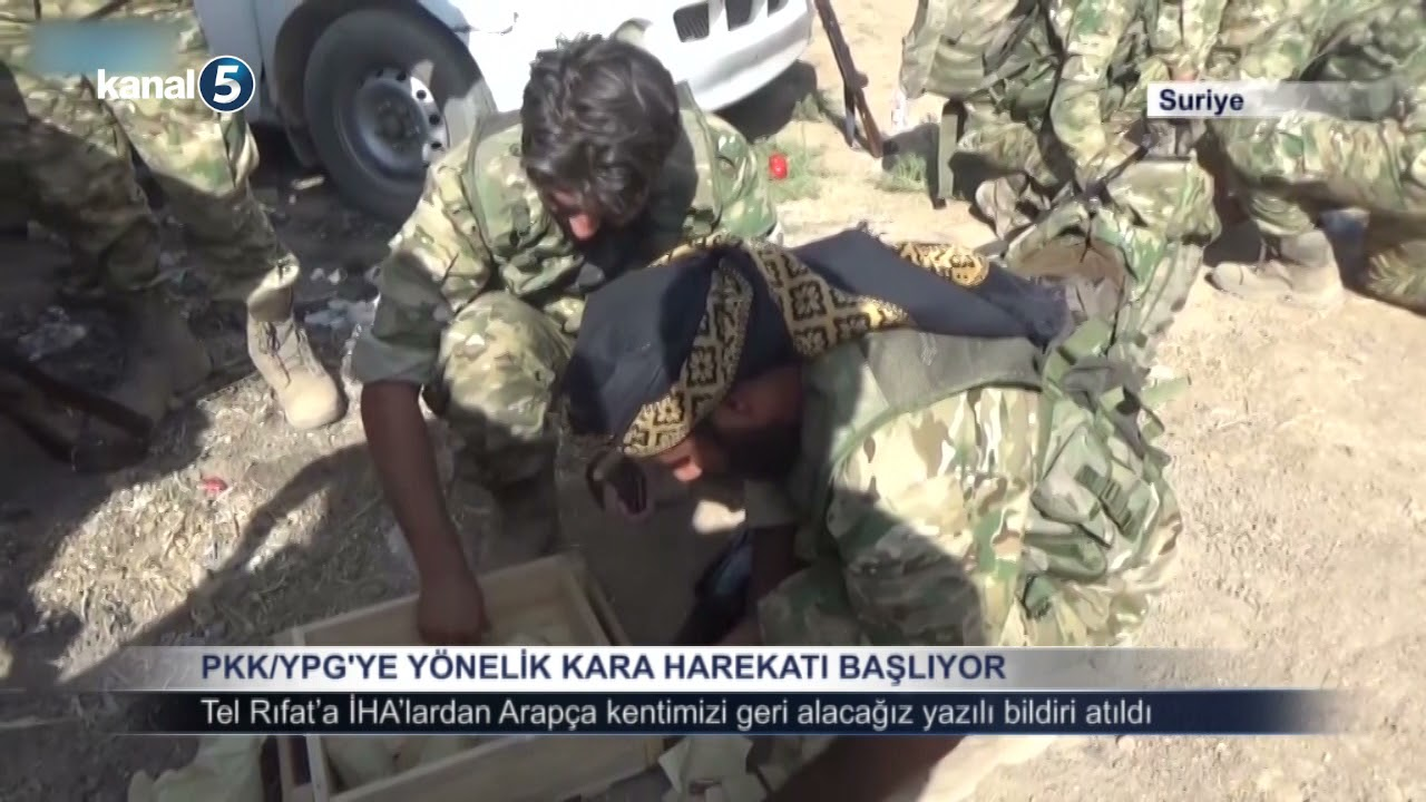 Download PKK YPG YE YÖNELİK KARA HAREKATI BAŞLIYOR