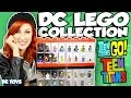 DC LEGO MINI FIGURE COLLECTION Lego Batman, Robin, Catwoman, Rare Lego, Teen Titans, Harley Quinn