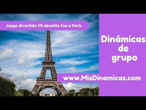 ✅Juego divertido  Mi abuelita fue a Paris #risoterapia #dinamicas #teambuilding