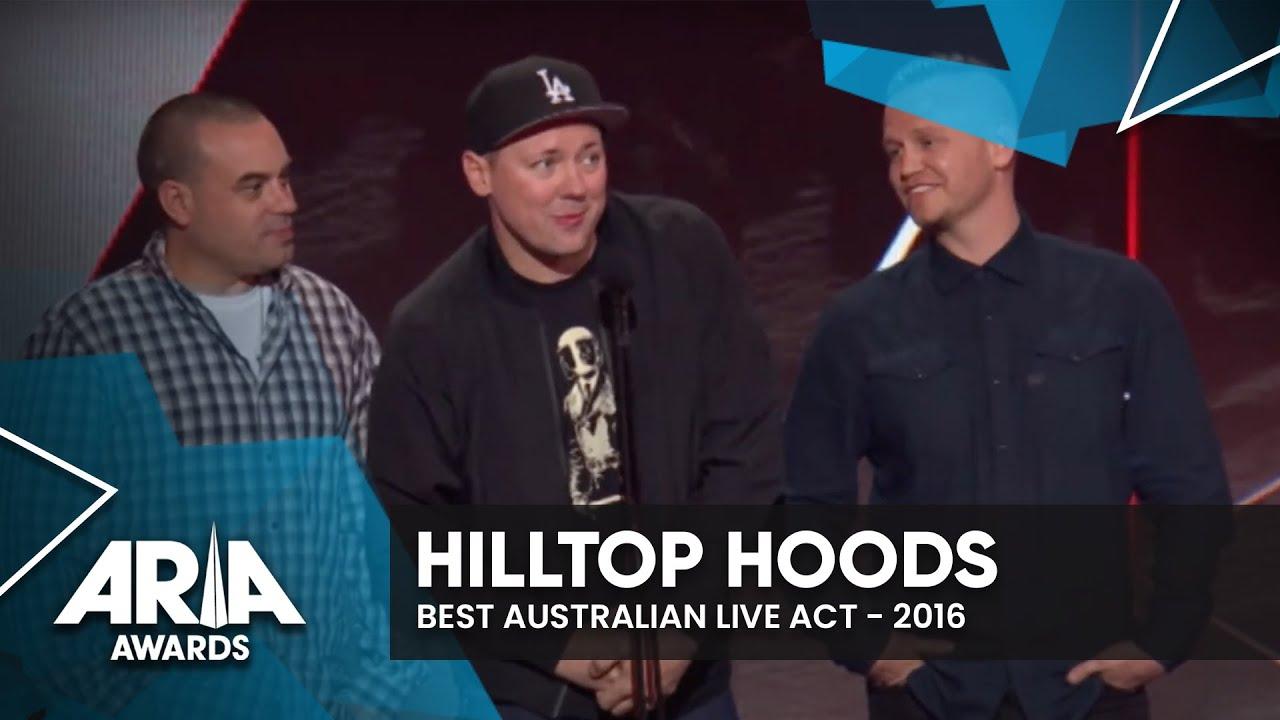 Hilltop Hoods win Best Australian Live Act | 2016 ARIA Awards
