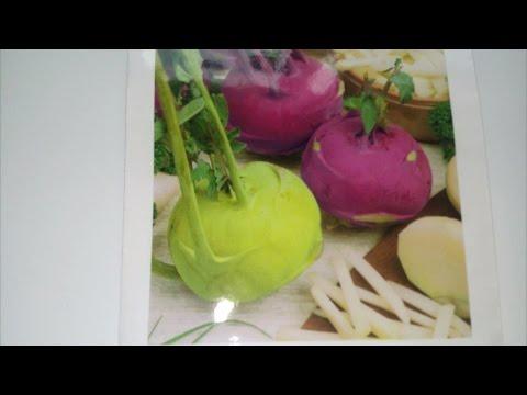 ❤🏡Капуста Кольраби круглый год польза и вред, калорийность.Северный лимон