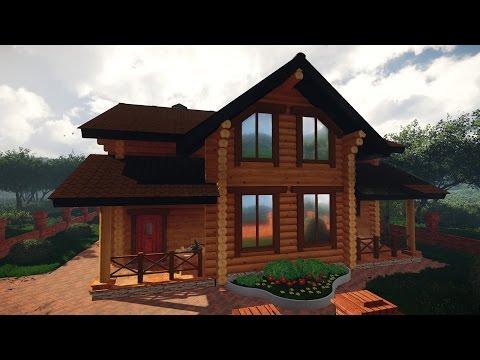 Деревянные дома из клееного бруса в Краснодаре и