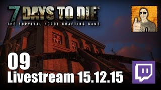 7 Days to Die [09] [Livestream] [Alpha 13] [Let's Play Gameplay Deutsch German HD] thumbnail
