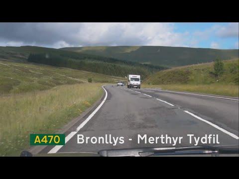 [GB] A470 Bronllys - Merthyr Tydfil