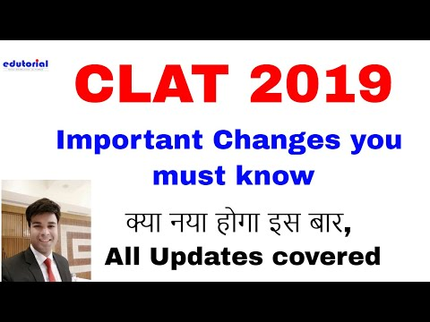 Important Changes in CLAT 2019 which every CLAT Taker should know