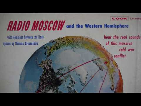 Radio Moscow And The Western (1961) Cook Laboratories ‎– 5050 - Soviet US Propaganda