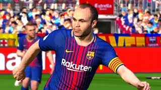 Barcelona vs real sociedad | la liga 20 may 2018 gameplay
