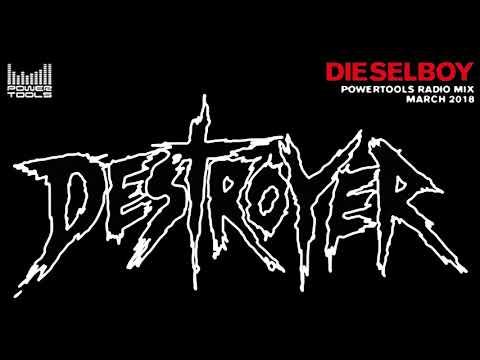 Dieselboy – Powertools Radio Minimix (March 2018) [Drum & Bass Mix]