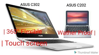 ASUS Chromebook flip C302 touch screen review and ASUS C202 review for sell laptops computer