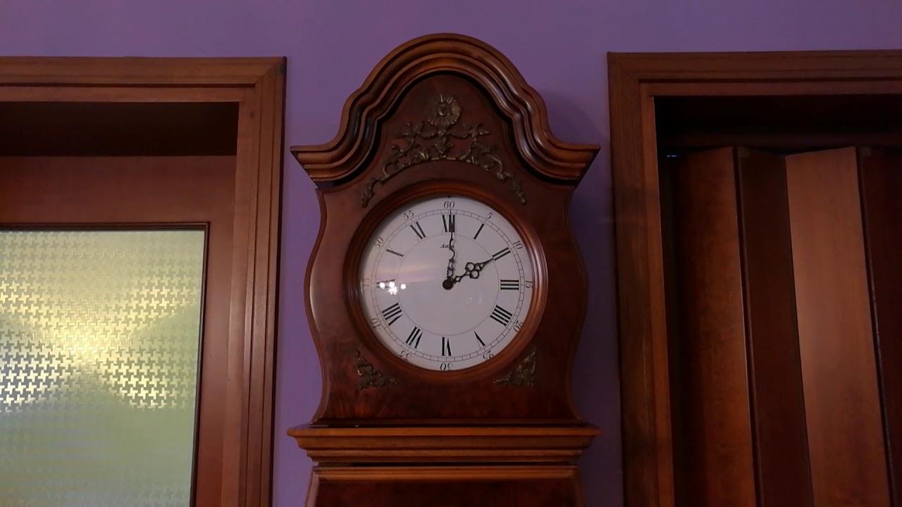 Orologio a pendolo a colonna melodia Westminster - YouTube