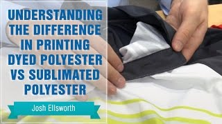 Heat Press Polyester: Difference in Dyed Polyester vs Sublimated Polyester