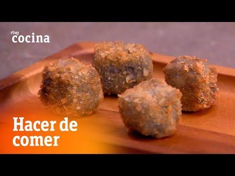 Cómo hacer Croquetas marineras - Hacer de comer | RTVE Cocina