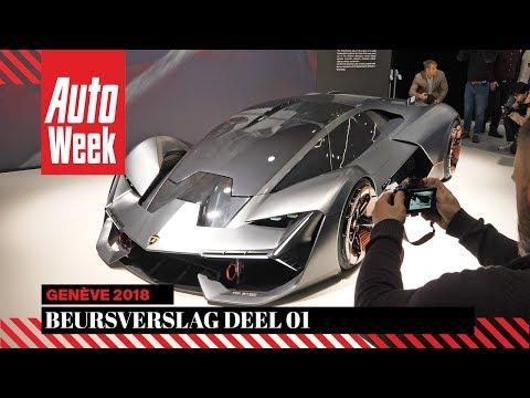 AutoWeek Beursverslag Genève 2018 Deel 1 - English subtitles