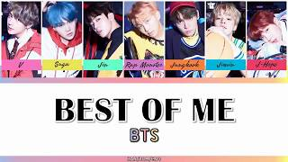 Video BTS (방탄소년단) - BEST OF ME (FEAT. THE CHAINSMOKERS) [HAN/ROM/ENG - COLOR CODED LYRIC] download MP3, 3GP, MP4, WEBM, AVI, FLV Agustus 2018