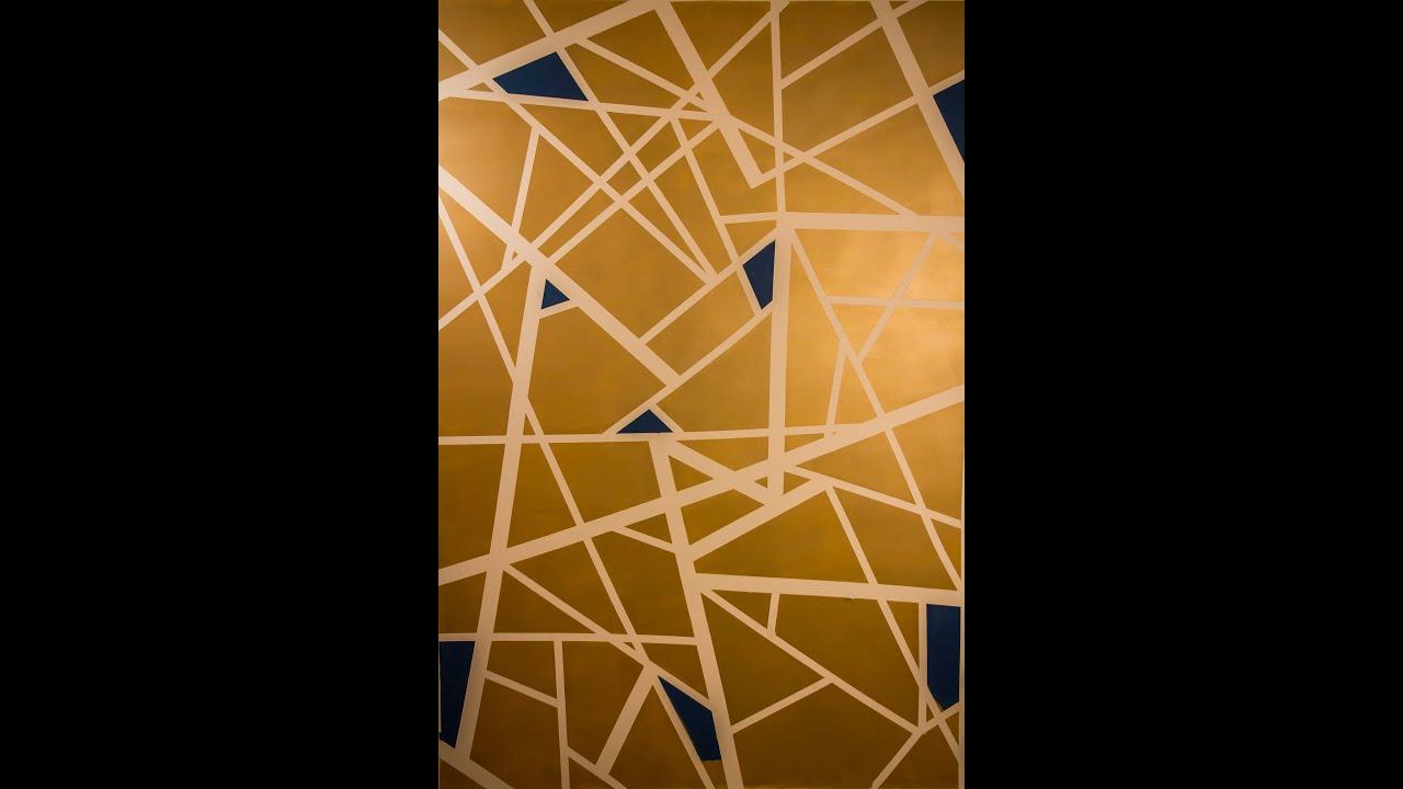 Pintura de parede geom trica como fazer youtube - Pinturas especiales para paredes ...
