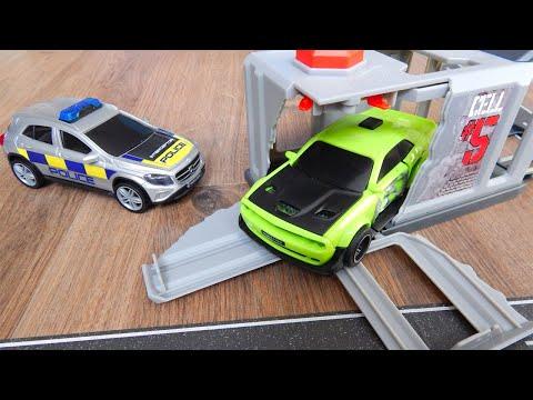 Мультики про машинки - Полицейская Машина Город Машинок 317 серия: Погоня. Видео с игрушками
