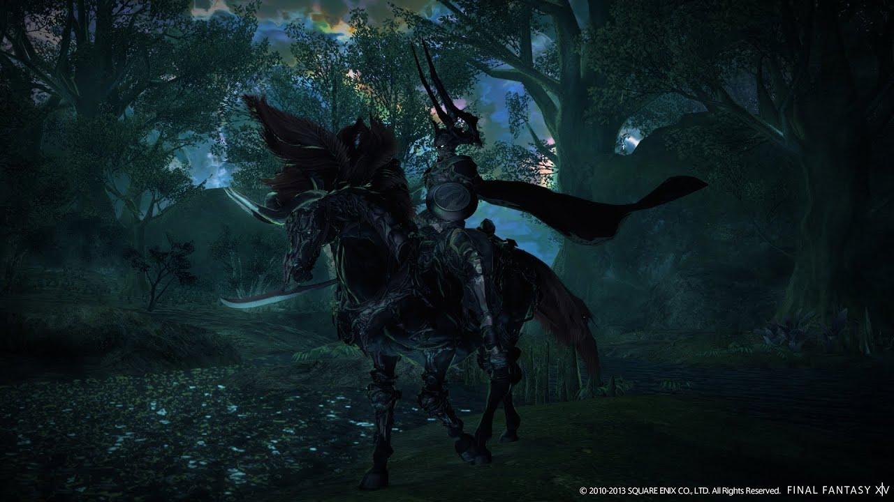 Final Fantasy XIV: A Realm Reborn ODIN World Boss Kill FATE Battle HD+
