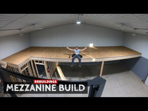 Building A Large Mezzanine With Stair Case