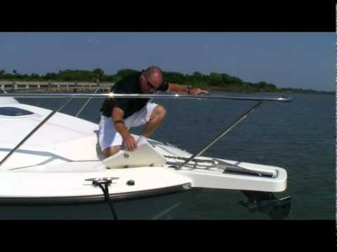 how to properly use an anchor windlass