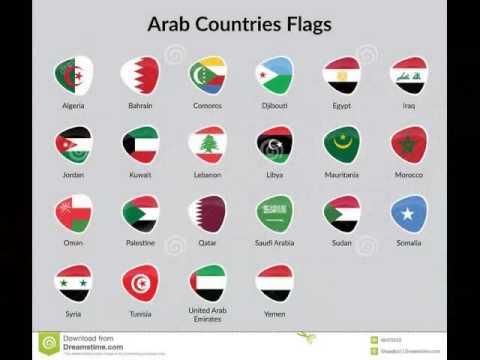 Arab world Flags