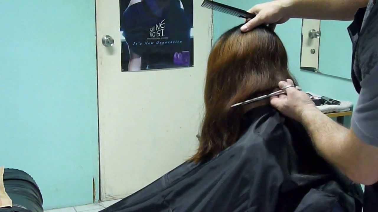 Hair Clippers And Shears Bob Cut YouTube