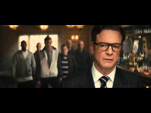 Kingsman Bar fight scene HD
