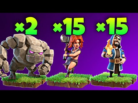 TH9 GoValk (Golem + Valkyrie) War Attack Strategy | Part 2 | Clash Of Clans