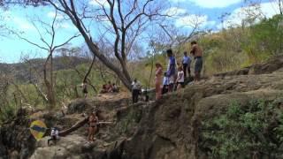 Las cascadas de Tamanique, La Libertad - ESTE ES EL SALVADOR, CANAL 12.