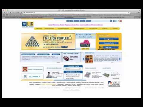 How to pay LIC premium online