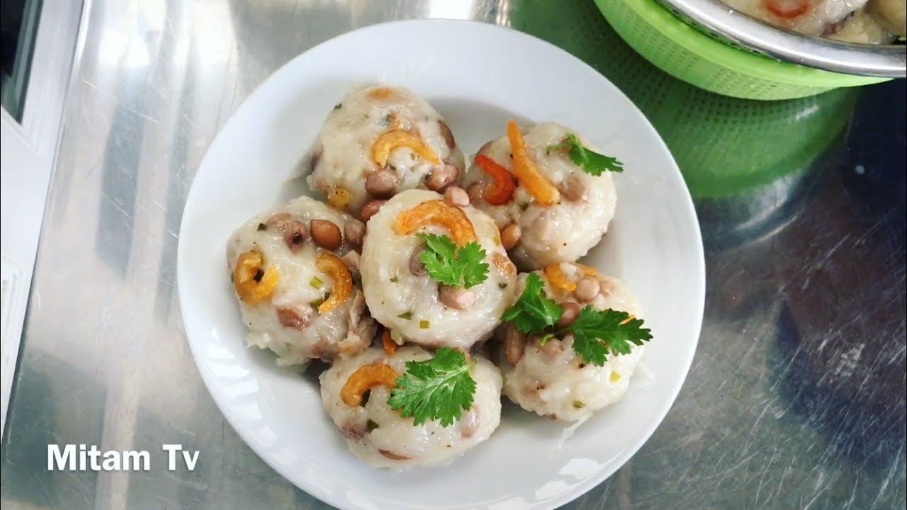 Cách làm bánh củ cải Triều Châu – Turnip Cake (Hôm nay Tâm ăn gì?) – Mitam TV