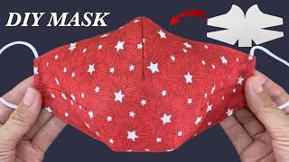New style Diy Breathable Face Mask Easy Pattern Sewing Tutorial How to Fabric Face Mask New Ideas