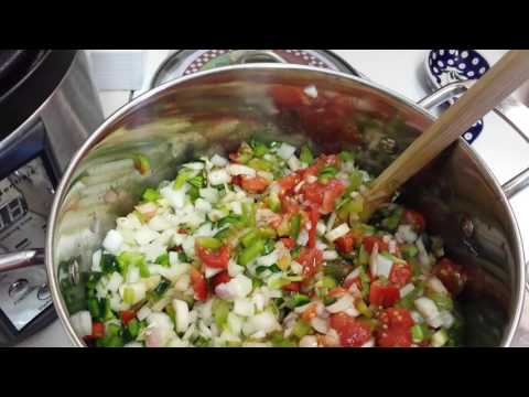 Home Canning: Ball Zesty Salsa  (with Changes)