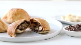 Banana & Nutella Pockets- Everyday Food with Sarah Carey