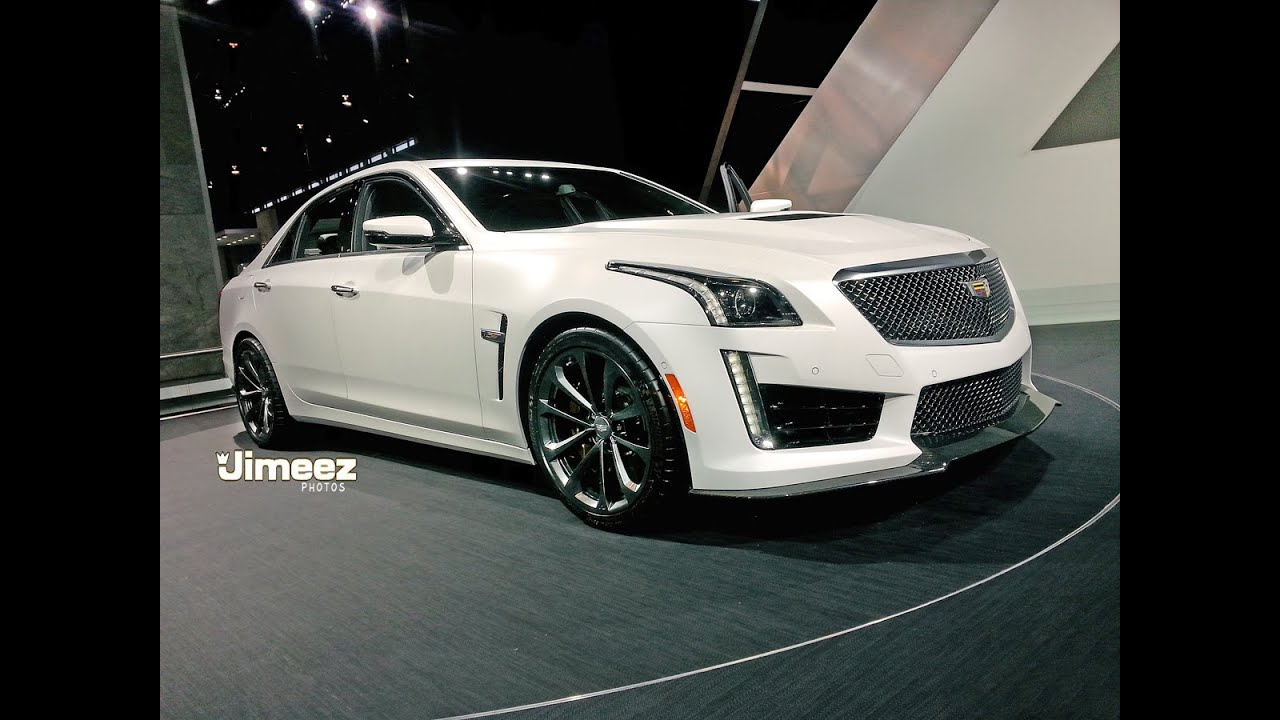 FASTEST CADILLAC EVER BUILT! '15 CADILLAC CTS-V AT 2015 CHICAGO AUTO