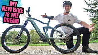 MY NEW BIKE IS THE DREAM - FIRST RIDE ON FULL SPEED MTB TRAILS!